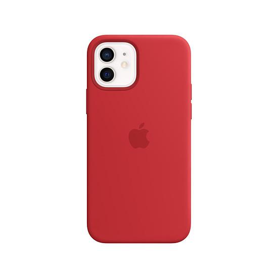 Coque et housse Apple Coque en silicone avec MagSafe pour iPhone 12 / 12 Pro - (PRODUCT)RED