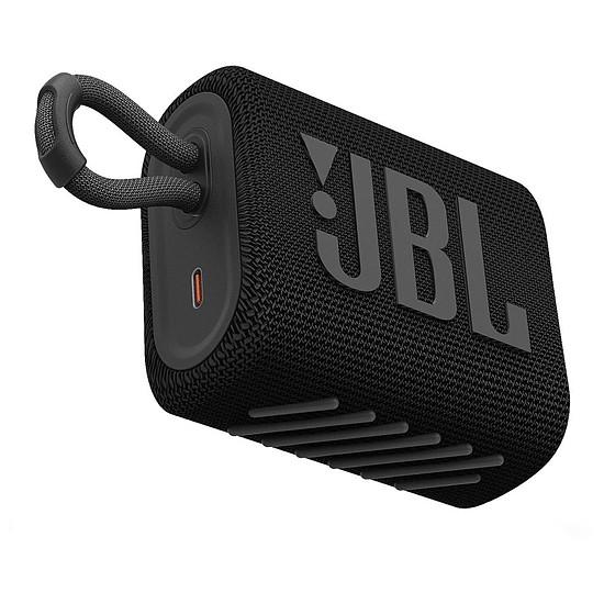 Enceinte sans fil JBL GO 3 Noir - Enceinte portable