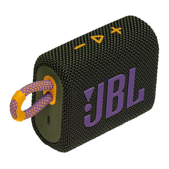 Enceinte sans fil JBL GO 3 Vert - Enceinte portable