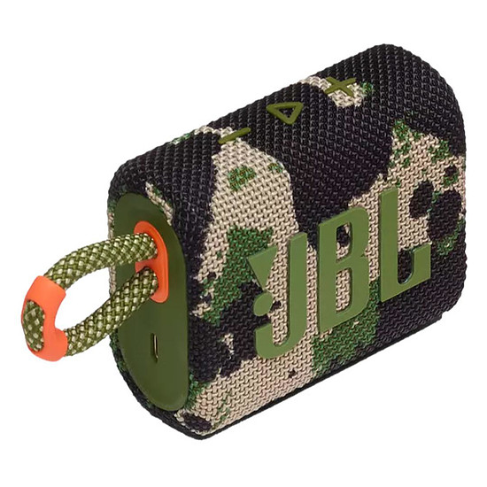 Enceinte sans fil JBL GO 3 Camouflage - Enceinte portable