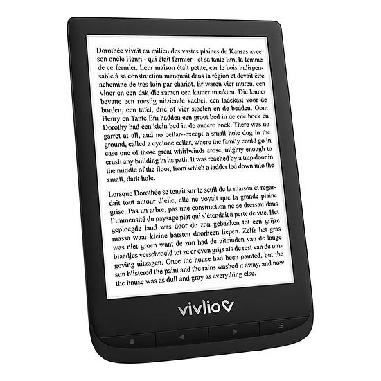 Liseuse numérique Vivlio Touch Lux 5 Noir - Pack d'eBooks OFFERT