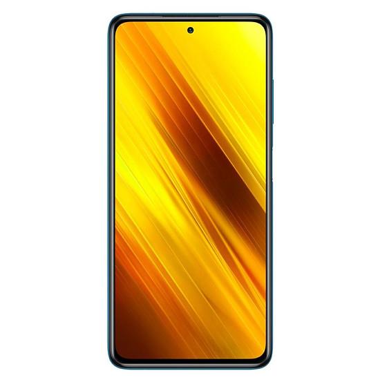 Smartphone et téléphone mobile Xiaomi Poco X3 NFC (Cobalt Blue) - 64 Go