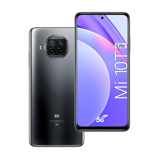 Smartphone et téléphone mobile Xiaomi Mi 10T Lite 5G (Gris) - 128 Go