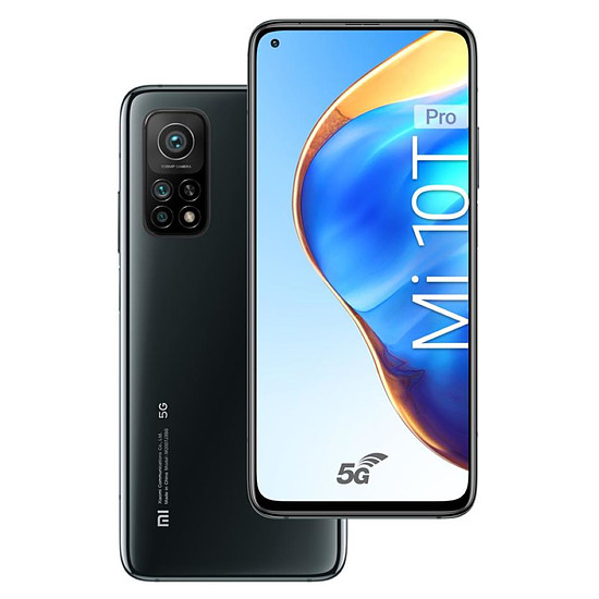 Smartphone et téléphone mobile Xiaomi Mi 10T Pro 5G (Noir) - 256 Go