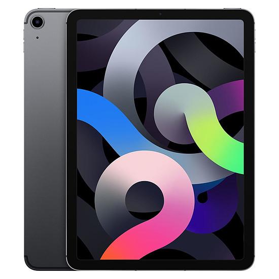 Tablette Apple iPad Air 2020 10,9 pouces Wi-Fi + Cellular - 64 Go - Gris sidéral (4 ème génération)
