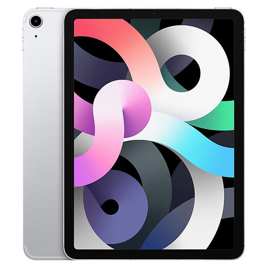Tablette Apple iPad Air 2020 10,9 pouces Wi-Fi + Cellular - 256 Go - Argent (4 ème génération)