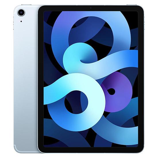 Tablette Apple iPad Air 2020 10,9 pouces Wi-Fi + Cellular - 256 Go - Bleu ciel (4 ème génération)