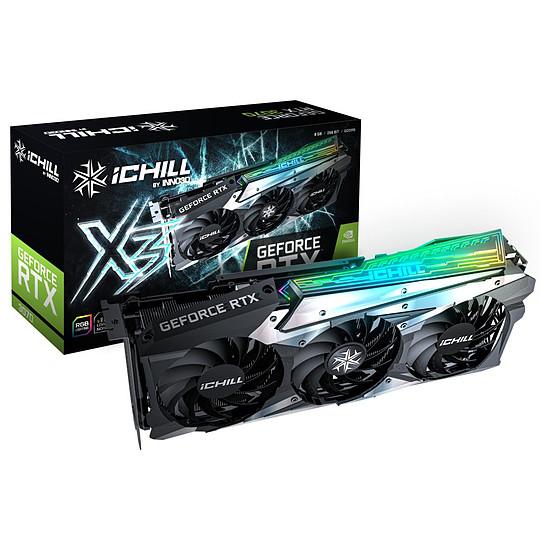 Carte graphique Inno3D GeForce RTX 3070 iCHILL X3