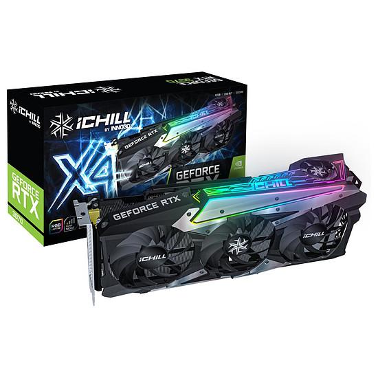 Carte graphique Inno3D GeForce RTX 3070 iCHILL X4