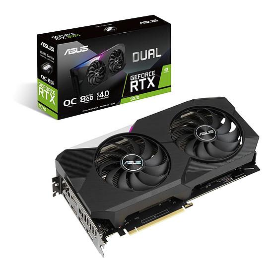 Carte graphique Asus GeForce RTX 3070 DUAL OC