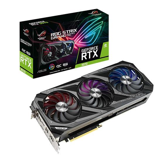 Carte graphique Asus GeForce RTX 3070 ROG STRIX OC