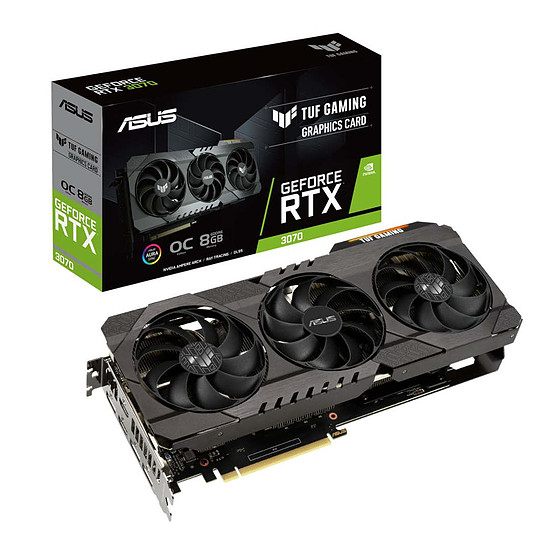 Carte graphique Asus GeForce RTX 3070 TUF OC