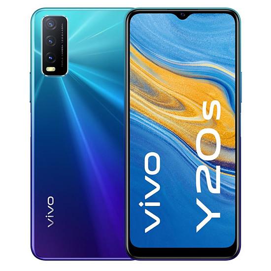Smartphone et téléphone mobile Vivo Y20S  (Bleu) - 128 Go