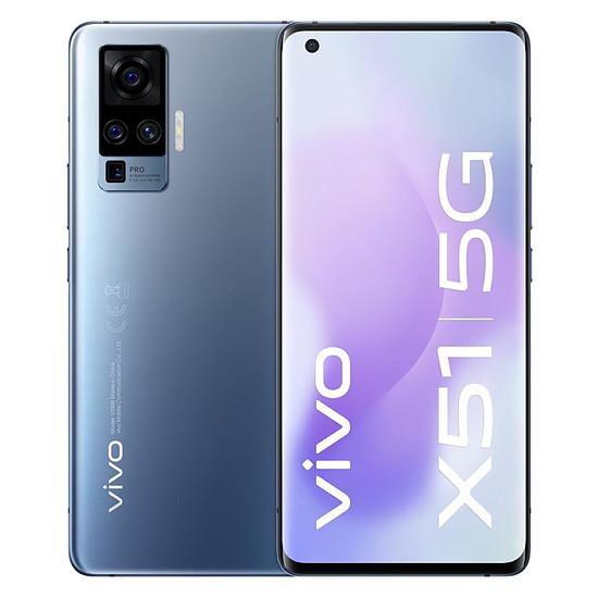 Smartphone et téléphone mobile Vivo X51 5G (Gris) - 256 Go