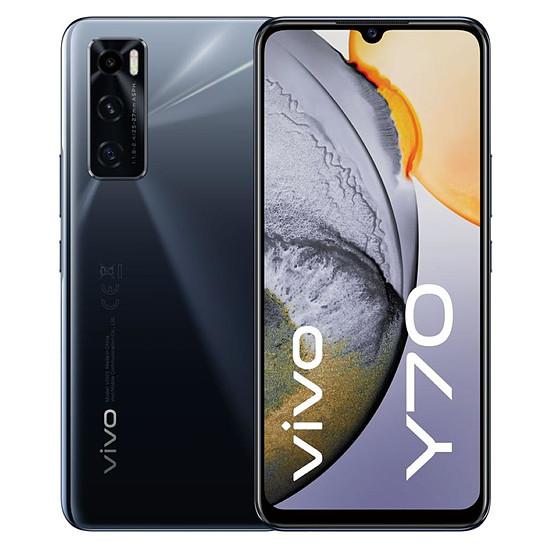 Smartphone et téléphone mobile Vivo Y70  (Noir) - 128 Go