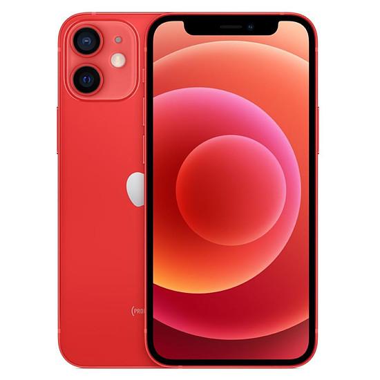 Smartphone et téléphone mobile Apple iPhone 12 mini (PRODUCT)RED  - 256 Go
