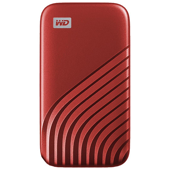 Disque dur externe Western Digital (WD) My Passport SSD - 2 To (Rouge)