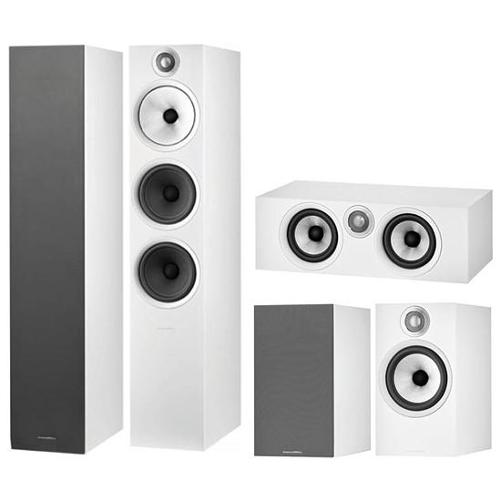 Enceintes HiFi / Home-Cinéma B&W pack d'enceintes 603 S2 Anniversary Edition GM 5.0 - Blanc