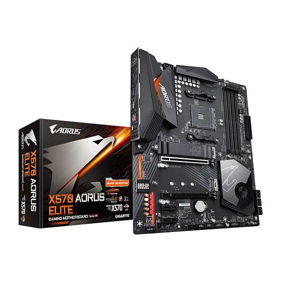 Carte mère Gigabyte X570 AORUS ELITE (compatible Ryzen série 5000)