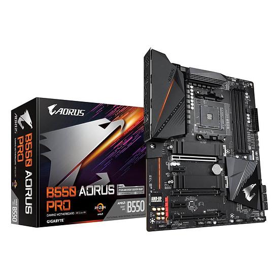 Carte mère Gigabyte B550 Aorus Pro (compatible Ryzen série 5000)
