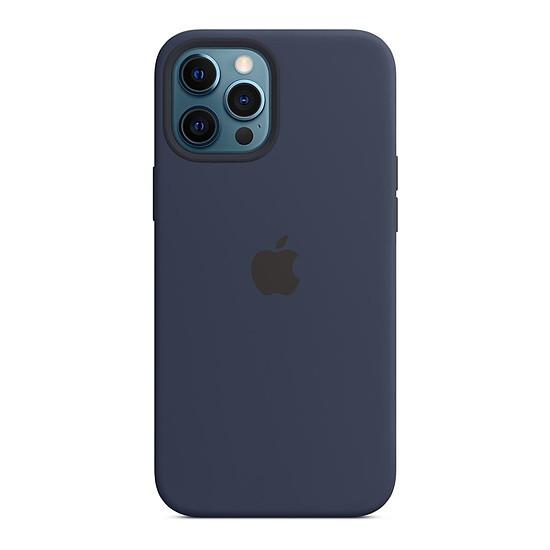 Coque et housse Apple Coque en silicone avec MagSafe pour iPhone 12 Pro Max - Marine intense
