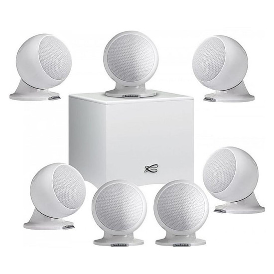Enceintes HiFi / Home-Cinéma Cabasse Alcyone 2 Pack 7.1 - Blanc