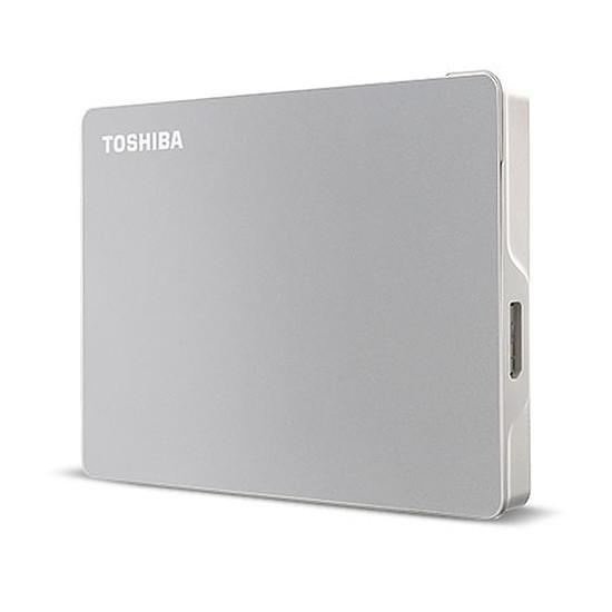Disque dur externe Toshiba Canvio Flex - 4 To (Argent)