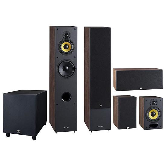 Enceintes HiFi / Home-Cinéma Davis Acoustics Pack 5.1 Mia 60 - Noyer