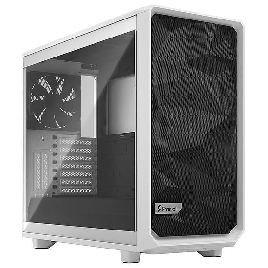 Boîtier PC Fractal Design Meshify 2 Clear TG - Blanc