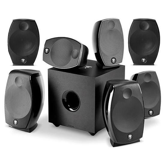 Enceintes HiFi / Home-Cinéma Focal Sib Evo 7.1.2 Dolby Atmos - Noir