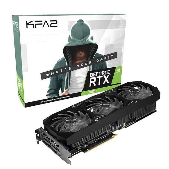 Carte graphique KFA2 GeForce RTX 3070 SG (1-Click OC)