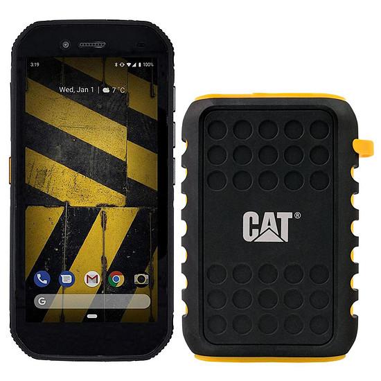 Smartphone et téléphone mobile CAT S42 - 32 Go + PowerBank 10000 mAh