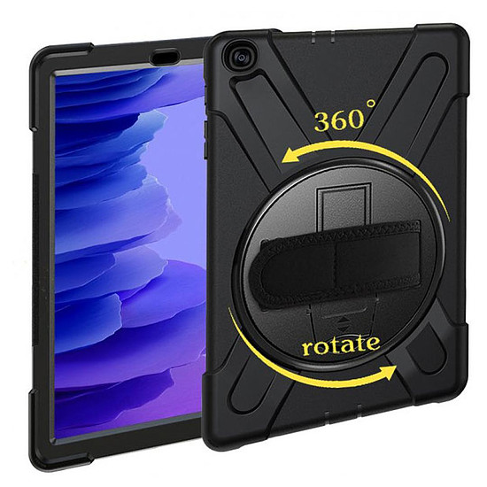 "Accessoires tablette tactile Akashi Coque renforcée (noir) - Samsung Galaxy Tab A7 10.4"""