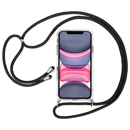 Coque et housse Akashi Coque TPU Angles Renforcés avec lanière  - Apple iPhone 11