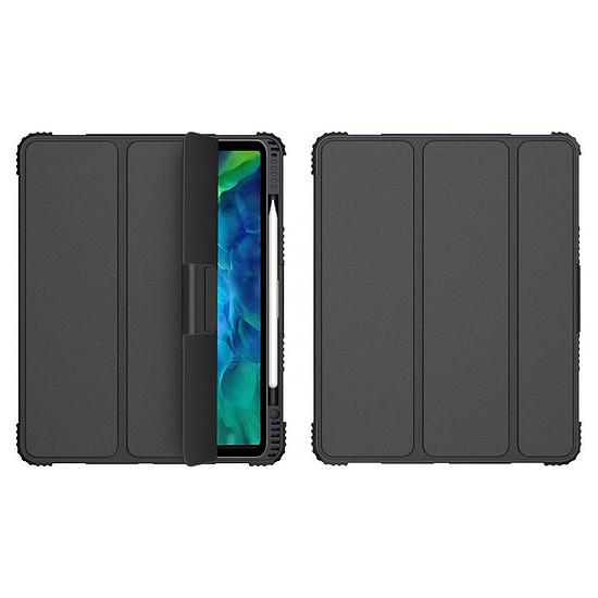 "Accessoires tablette tactile Akashi Etui Folio Stand (noir) iPad Pro 11"" (2018 / 2020 / 2021)"