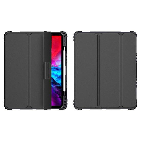 "Accessoires tablette tactile Akashi Etui Folio Stand (noir) iPad Pro 12.9"" (2018 / 2020)"
