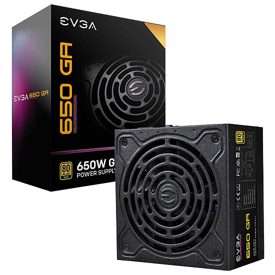 Alimentation PC EVGA SuperNOVA 650 GA - Gold