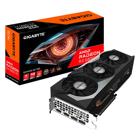 Carte graphique Gigabyte Radeon RX 6800 XT GAMING OC