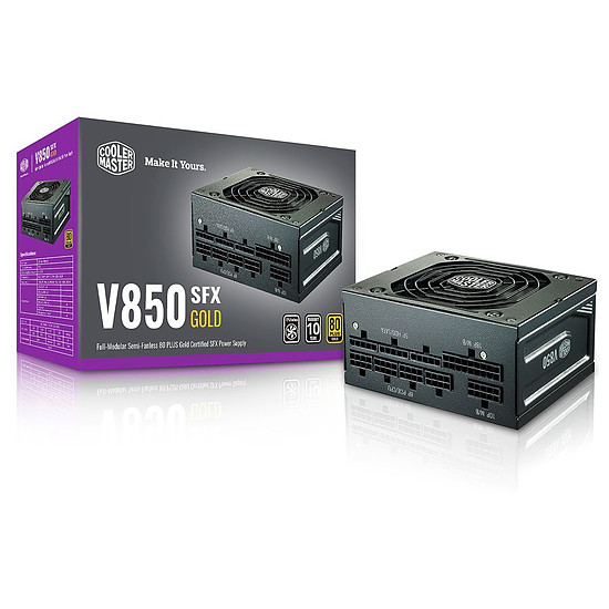 Alimentation PC Cooler Master V850 SFX - Gold