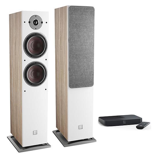Enceintes HiFi / Home-Cinéma Dali Oberon 7 C (la paire) - Chêne clair + Sound Hub Compact