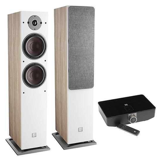 Enceintes HiFi / Home-Cinéma Dali Oberon 7 C (la paire) - Chêne clair + Sound Hub + Module de streaming BluOS NPM-1