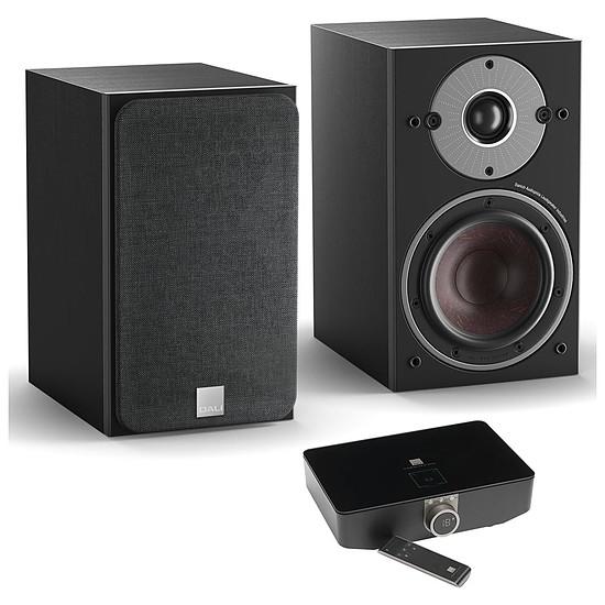 Enceintes HiFi / Home-Cinéma Dali Oberon 1 C (la paire) - Noir + Sound Hub + Module de streaming BluOS NPM-1