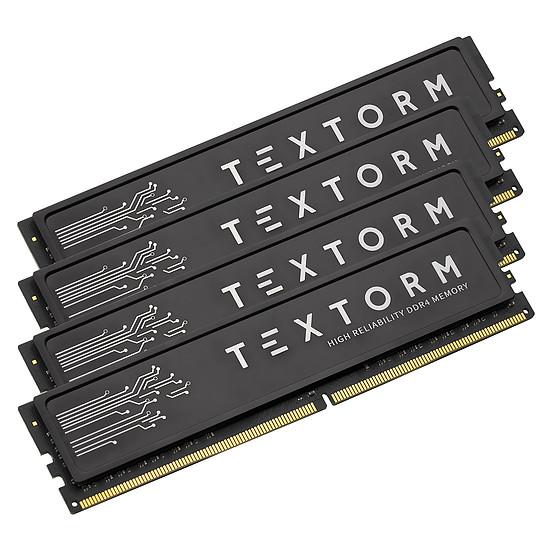 Mémoire Textorm - 4 x 16 Go (64 Go) - DDR4 3200 MHz - CL16