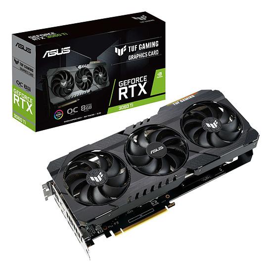 Carte graphique Asus GeForce RTX 3060 Ti TUF OC