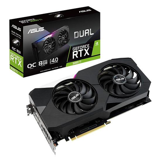 Carte graphique Asus GeForce RTX 3060 Ti DUAL OC