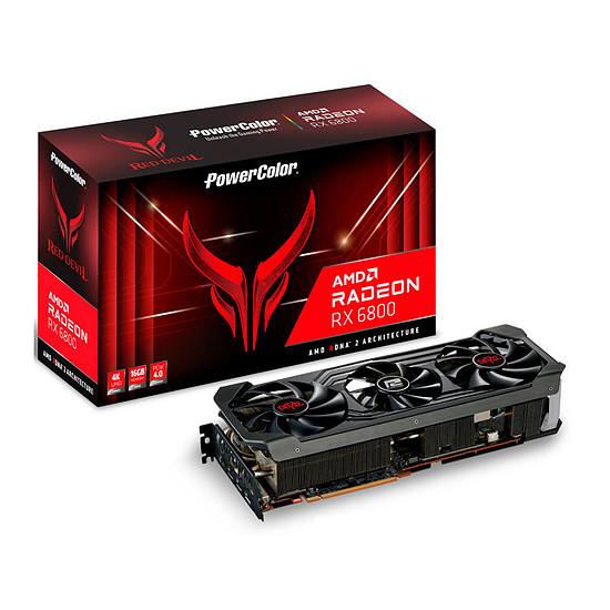 Carte graphique PowerColor Radeon 6800 Red Devil