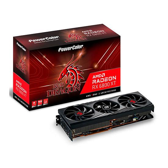 Carte graphique PowerColor Radeon 6800 XT Red Dragon
