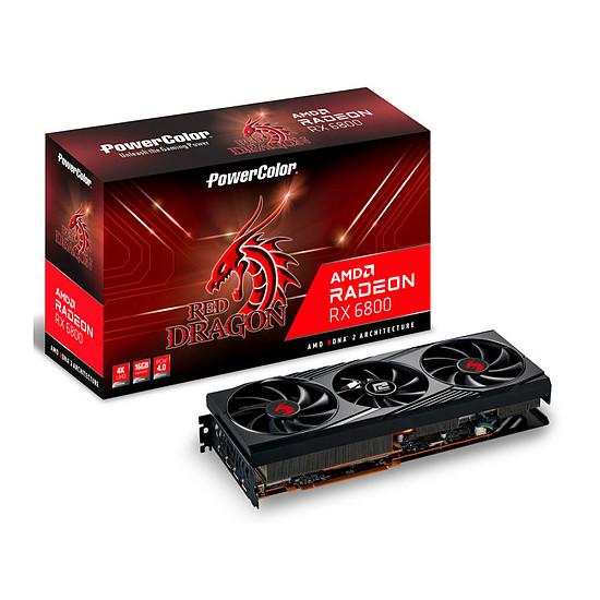 Carte graphique PowerColor Radeon 6800 Red Dragon
