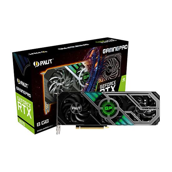 Carte graphique Palit GeForce RTX 3070 GamingPro