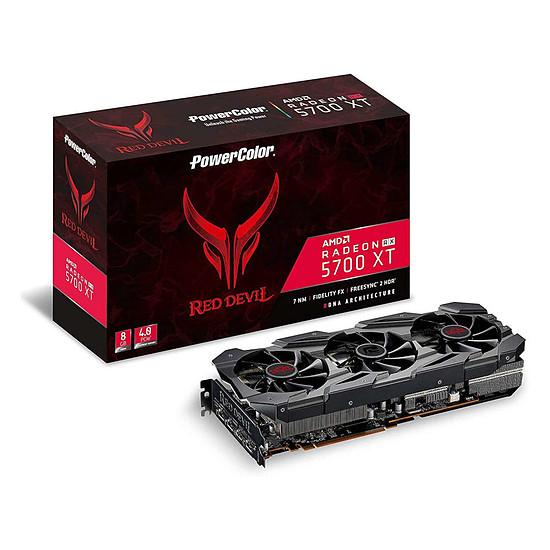 Carte graphique PowerColor Red Devil Radeon 5700 XT